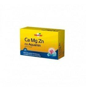 Ca-Mg-Zn Aquamin 30 cpr Walmark