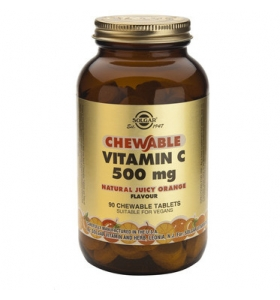 Vitamina C 500mg, 90 tablete, Solgar