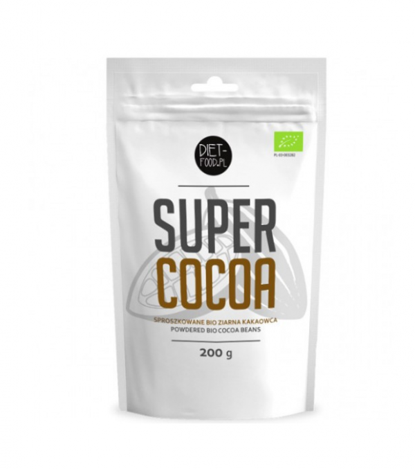 Cacao Raw Pulbere Bio 200g Diet Food