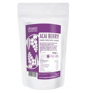 Acai pulbere raw BIO 100g Dragon Superfoods