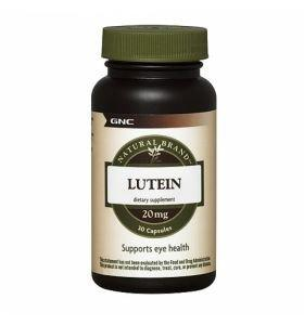 Natural Brand Lutein, 60 capsule, GNC
