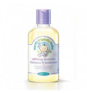 Sampon si gel de dus levantica (0-3ani) 250ml Earth Friendly Baby